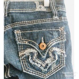 Hydraulic Bailey Slim Flare Jeans Size 7-8